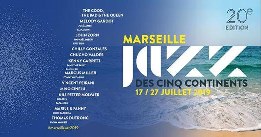 20ème édition du Marseille Jazz des cinq continents