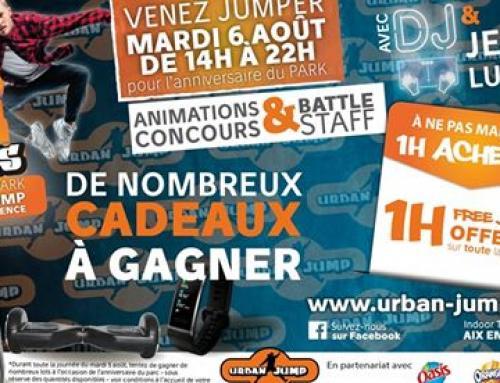 Urban Jump Aix fête ses 3 ans !