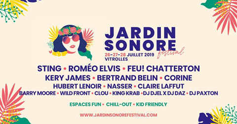 Gagnez 2 Pass 3 jours pour le festival Jardin Sonore !*