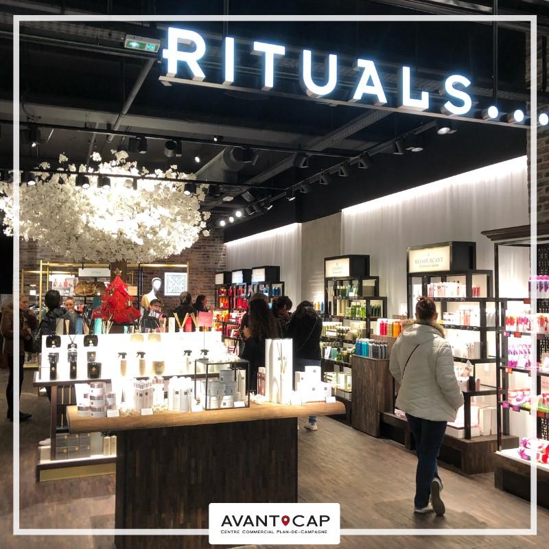Bienvenue à Rituals Cosmetics qui vient d'ouvrir ses portes à Avant Cap Plan de ...