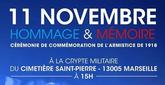 Cérémonie de commémoration de l'armistice de 1918